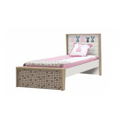 Кровать Luxe Studio Кролик Banny с мягким изголовьем 90х190