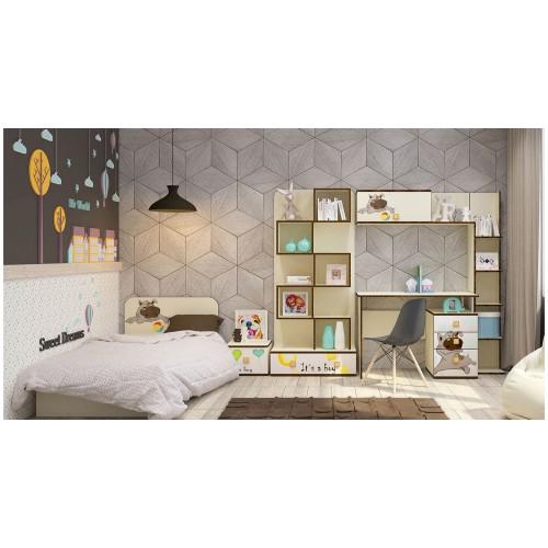 Набор детской мебели Luxe Studio Joy 6 элементов спальное место 190х90
