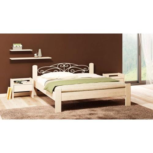 Кровать Camelia Амелия натуральное дерево
