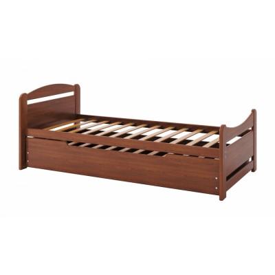 Кровать Camelia Авена дуб 90х200