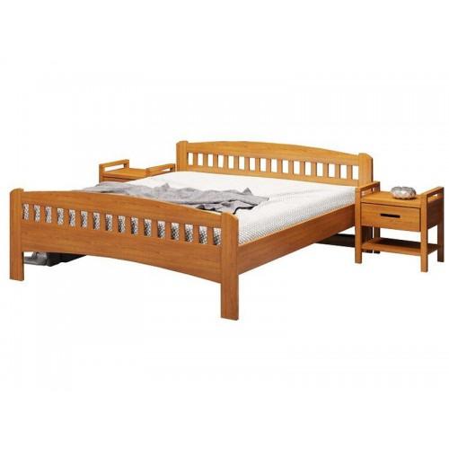 Кровать Camelia Розаля светлое дерево