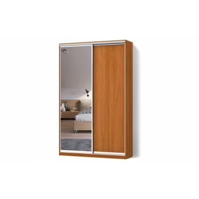 Шкаф-купе ДСП/Зеркало двухдверный Классик
