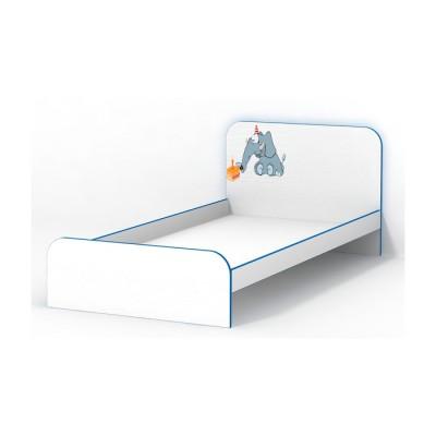 Кровать Luxe Studio Слоник без бортика 90х190