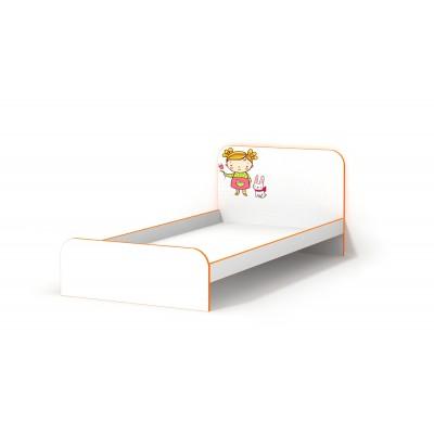 Кровать Luxe Studio Мандаринка без бортиков 90х190