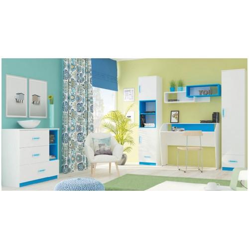 Набор детской мебели Luxe Studio Tammy 6 элементов спальное место 200х90