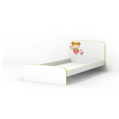 Кровать Luxe Studio Яблочко без бортика 90х190
