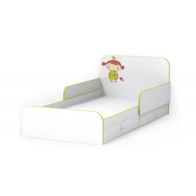Кровать Luxe Studio Яблочко с бортиком 90х190